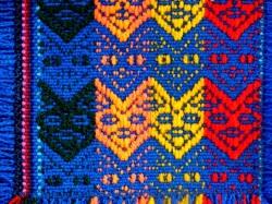 ペルー製マンタのコースターセット