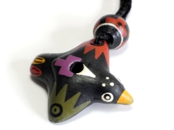 鳥の鳴き声 小鳥のオカリナペンダント