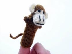 指人形 サル
